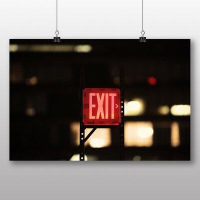 Big Box Art 'New York Exit Street Sign' Photographic Print