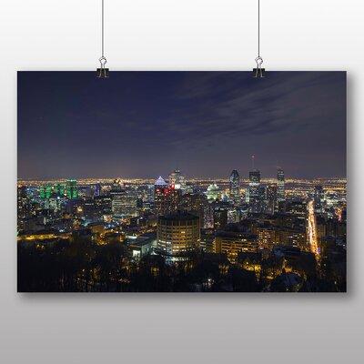 Big Box Art Montreal Canada Skyline Photographic Print