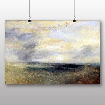 Big Box Art 'Margate from the Sea' by Joseph Mallord William Turner Art Print