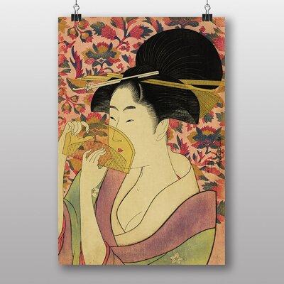 "Big Box Art ""Vintage Japanese Oriental Art No.8"" by Kitagawa Utamaro Art Print"