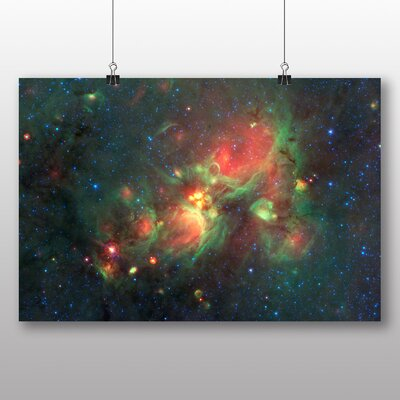 Big Box Art Milky Way Galaxy Space Photographic Print
