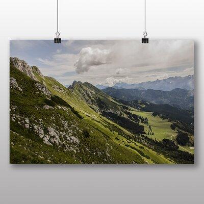 Big Box Art Mountain Landscape No.2 Photographic Print on Canvas