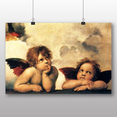 Big Box Art 'Raphael Two Cupids' Graphic Art