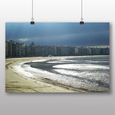 Big Box Art Rambla Beach Uruguay Photographic Print