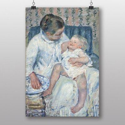 "Big Box Art ""Childs Bath Time No.1"" by Mary Cassatt Art Print"