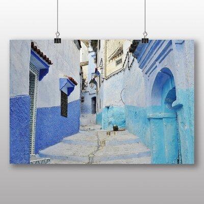 Big Box Art Morocco No.4 Graphic Art Wrapped on Canvas