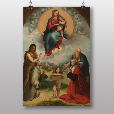 Big Box Art Raphael Madonna of Foligno Art Print