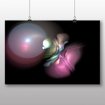 Big Box Art Mixed Colour Fractal Abstract No.19 Graphic Art