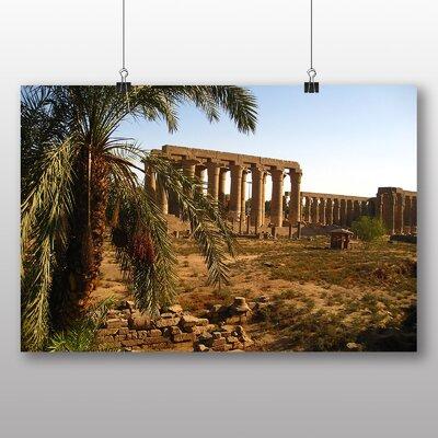 Big Box Art Luxor Temple Egypt Photographic Print on Canvas