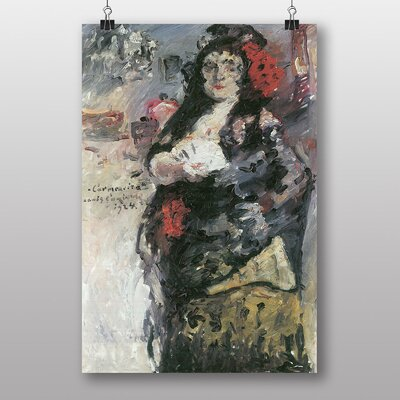 "Big Box Art ""Carmencita"" by Lovis Corinth Art Print"