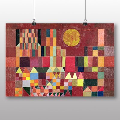 Big Box Art 'Slot Og Sol' by Paul Klee Graphic Art