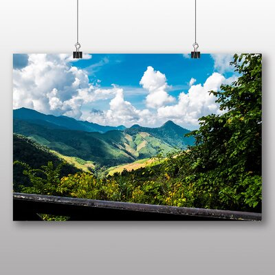 Big Box Art Mountain landscape Thailand Photographic Print