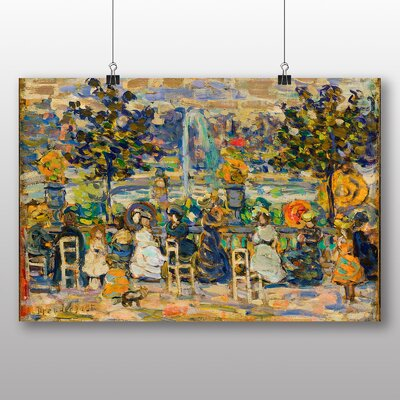 Big Box Art 'In Luxembourg Gardens' by Maurice Prendergast Art Print