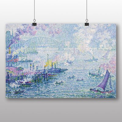 Big Box Art 'The Port of Rotterdam' by Paul Signac Art Print
