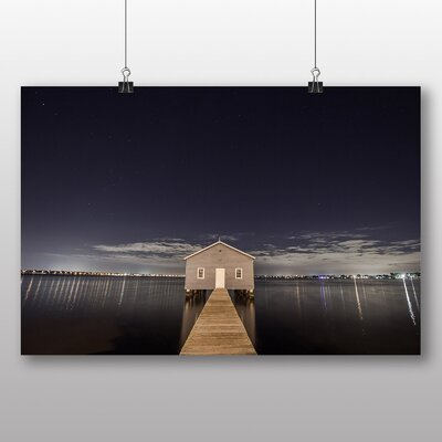 Big Box Art 'Landing Stage House' Photographic Print