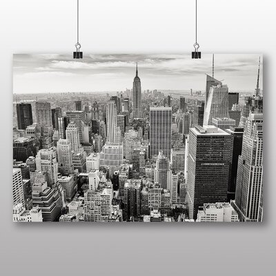Big Box Art Manhattan New York City Skyline USA No.1 Photographic Print