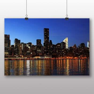 Big Box Art New York City Skyline No.2 Photographic Print on Canvas