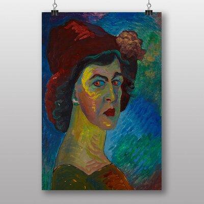 """Big Box Art """"Self Portrait"""" by Marianne Von Werefkin Art Print"""