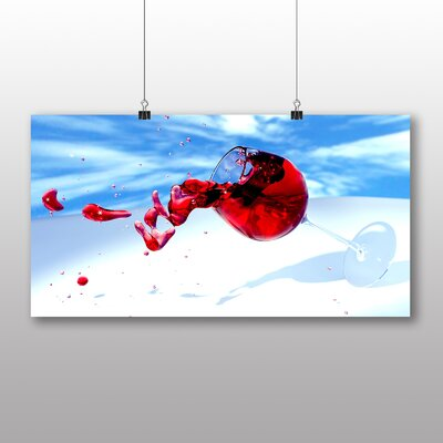 Big Box Art Wine No.1 Graphic Art on Canvas