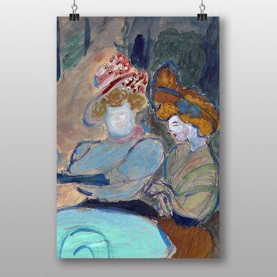"""Big Box Art """"Two Women"""" by Marianne Von Werefkin Art Print"""