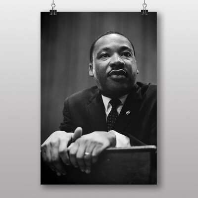 Big Box Art Martin Luther King No.4 Photographic Print on Canvas