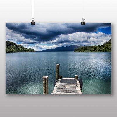 Big Box Art New Zealand Scenery No.3 Photographic Print on Canvas