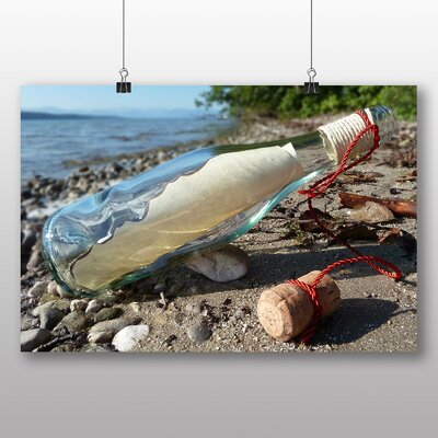 Big Box Art Message in a Bottle Photographic Print