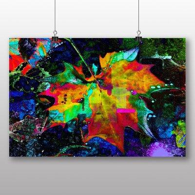 Big Box Art Leaf Abstract Graphic Art