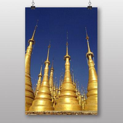 Big Box Art Pagoda Burma Photographic Print