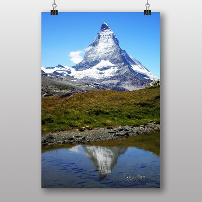 Big Box Art Matterhorn Mountain Zermatt Photographic Print