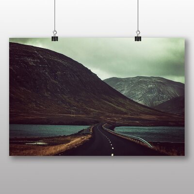 Big Box Art Road to Nowhere Photographic Print Wrapped on Canvas