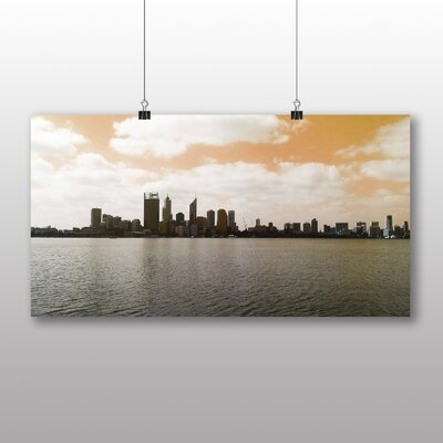 Big Box Art Perth Skyline Australia Photographic Print on Canvas