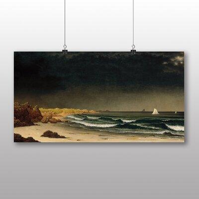 Big Box Art 'Aproaching Storm' by Martin Johnson Heade Art Print