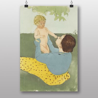 Big Box Art Mother and Child by Mary Cassatt Art Print