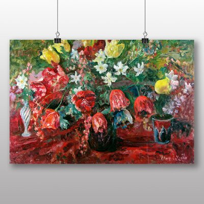 Big Box Art 'Tulip Study' by Pal Merse Art Print
