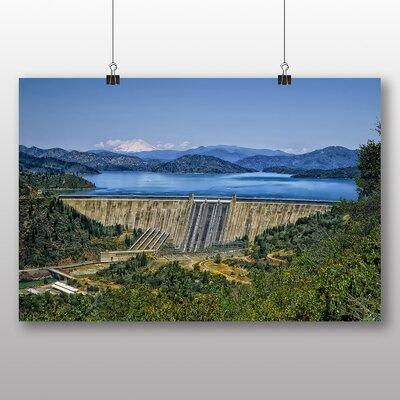 Big Box Art North Carolina Fontana Dam USA Photographic Print Wrapped on Canvas