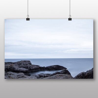Big Box Art 'Rocks and Seascape' Photographic Print