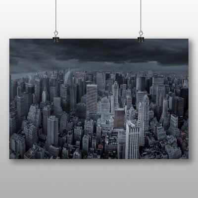 Big Box Art New York City Skyline USA No.22 Photographic Print on Canvas