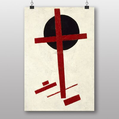 "Big Box Art ""Abstract No.4"" by Kazimir Malevich Art Print"