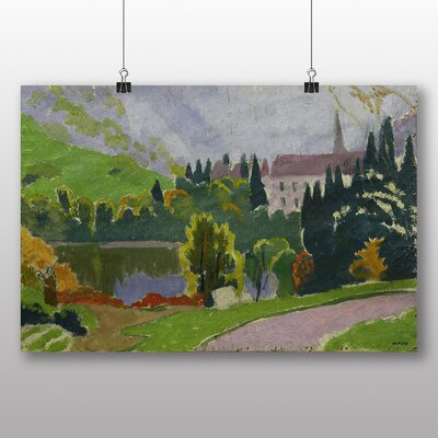 "Big Box Art ""Landscape"" by Maurice Denis Art Print on Canvas"
