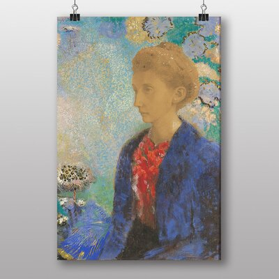 Big Box Art Baroness Domecy by Odilon Redon Art Print