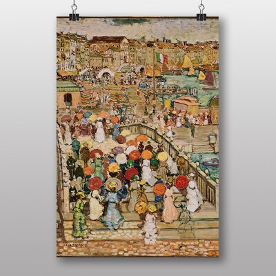 Big Box Art The Bridge by Maurice Prendergast Art Print
