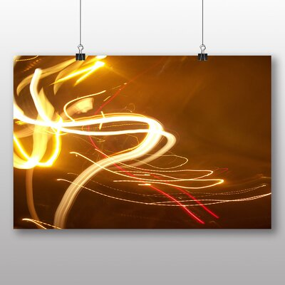 Big Box Art Kinetic Abstract Electricity No.2 Graphic Art on Canvas