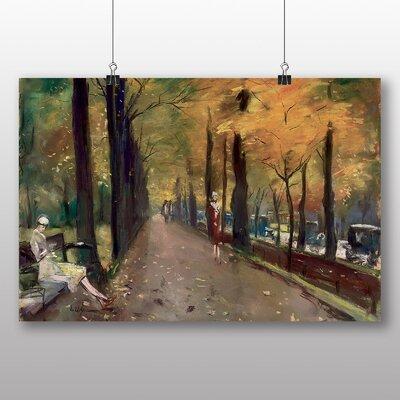 Big Box Art 'Autumn Alley' by Lesser Ury Art Print