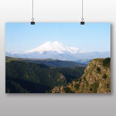 Big Box Art Mt Elbrus Mountain Photographic Print on Canvas
