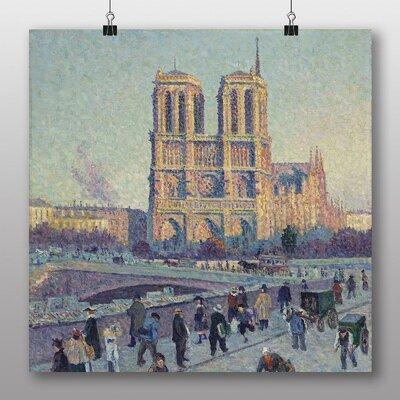 Big Box Art 'Notre Dame' by Maximilien Luce Art Print