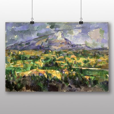 Big Box Art 'Landscape No.7' by Paul Cezanne Art Print
