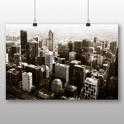 Big Box Art Melbourne City Skyline Australia Photographic Print