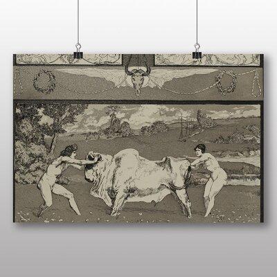 Big Box Art 'Apollo and Daphne' by Max Klinger Art Print