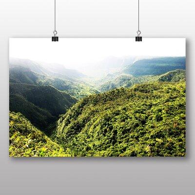 Big Box Art Mauritius No.2 Photographic Print Wrapped on Canvas